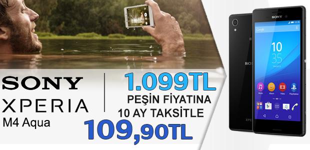Sony Xperia M4 Aqua Kampanya