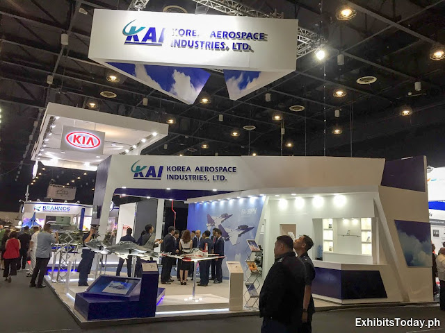 Korea Aerospace Industries, Ltd Trade Show Display