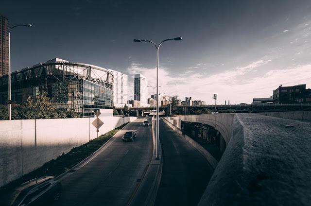 Panorama urbano fotografato con la Leica TL