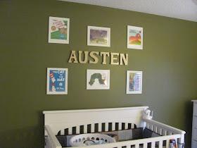 The Nursery Is Ready For Austen