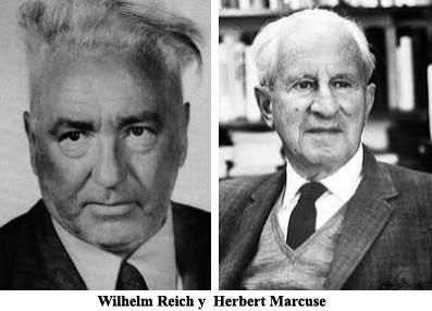 Wilhelm Reich y  Herbert Marcuse,