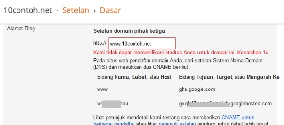 Mengganti domain blogspot menjadi domain net