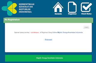panduan registrasi perpanjang STR di website MTKI
