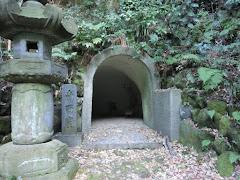 安国論寺南面窟