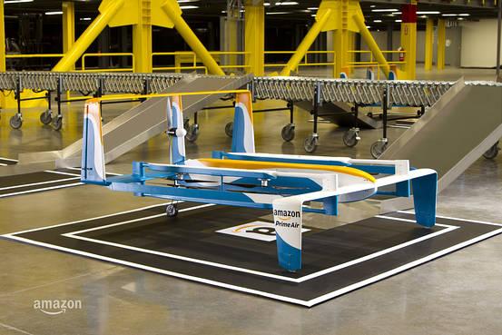أمازون تكشفت عن نموذج طائرة تسليم البضائع بدون طيار الجديد مع إدراج التقنيات الحديثة في مُعاملاتها مع طلبات عملائها