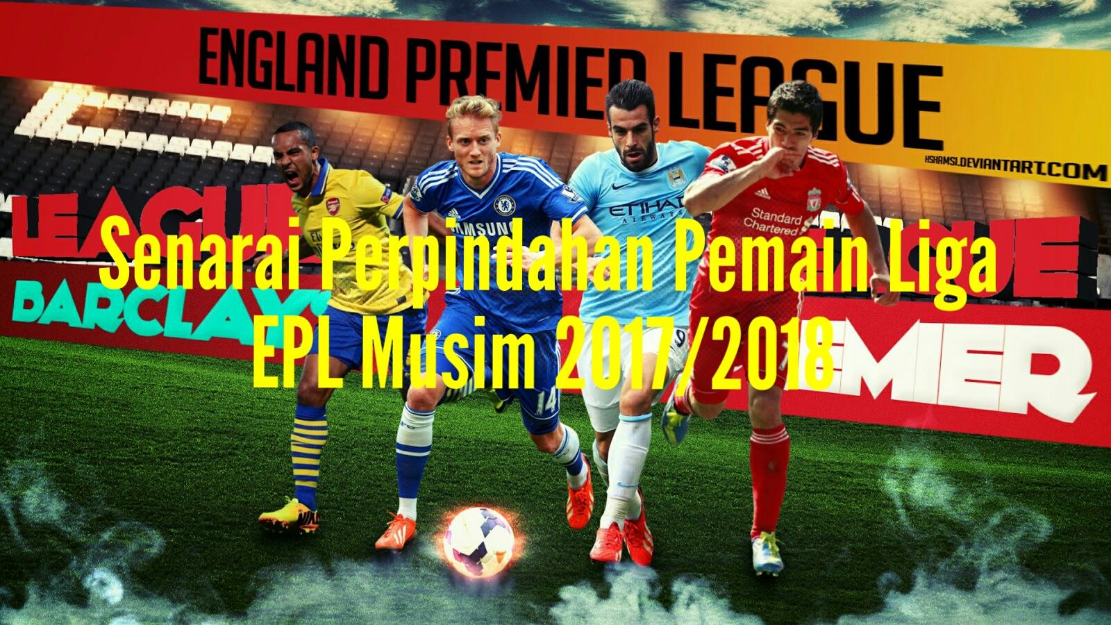 055e942341a Senarai Perpindahan Pemain Liga EPL Musim 2019/2020 - MY INFO SUKAN
