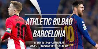 مباشر مشاهدة مباراة برشلونة وأتلتيك بيلباو بث مباشر اليوم 10-02-2019 الدوري الاسباني يوتيوب بدون تقطيع