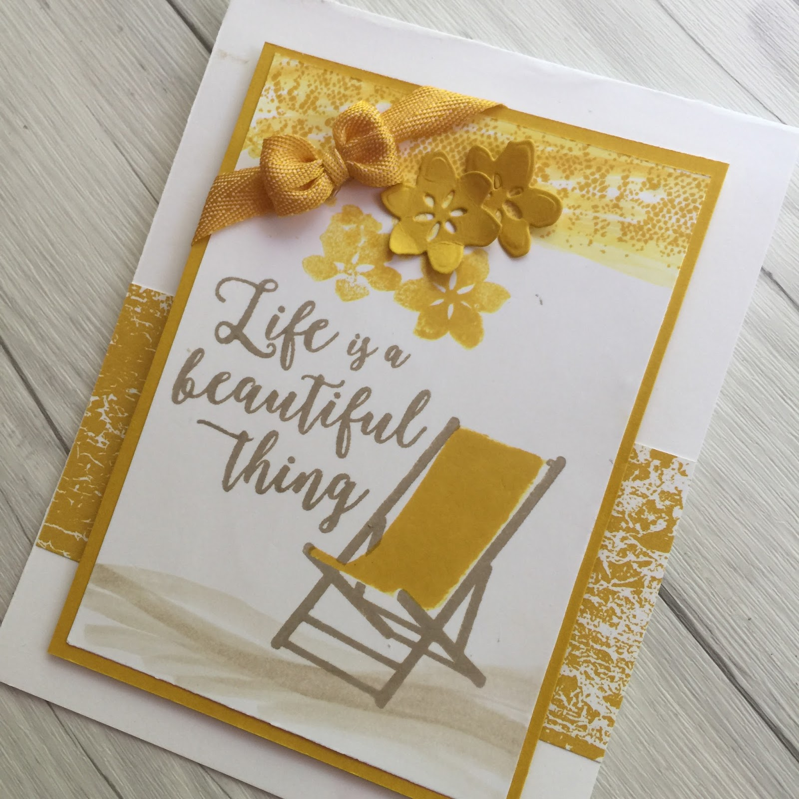 stamped sophisticates colorful seasons summer card using stampin
