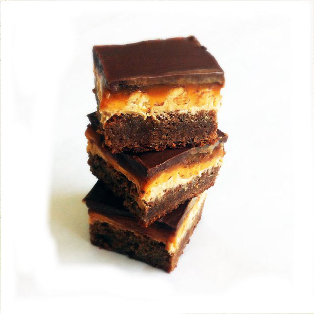Brownie de snicker