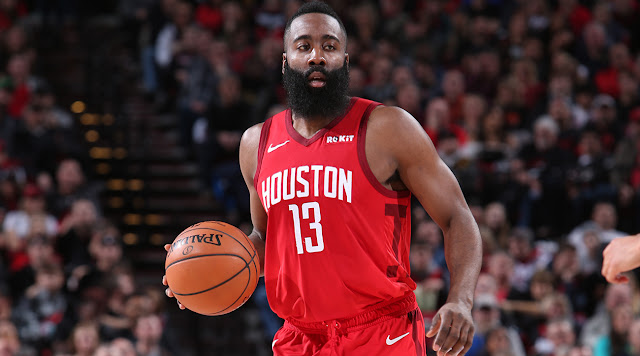 James Harden Drops 57, Breaks Kobe's Record of 16 Straight Games of 30+ Pts
