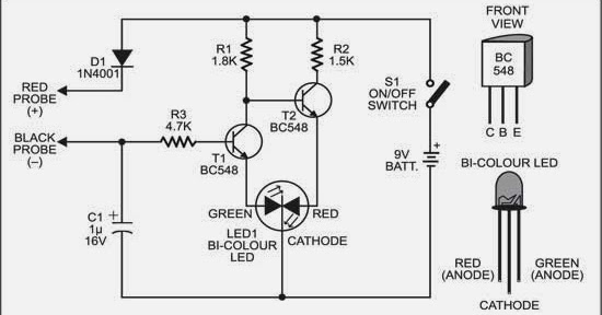 Wiring & diagram Info: Simple Handy Tester Wiring diagram