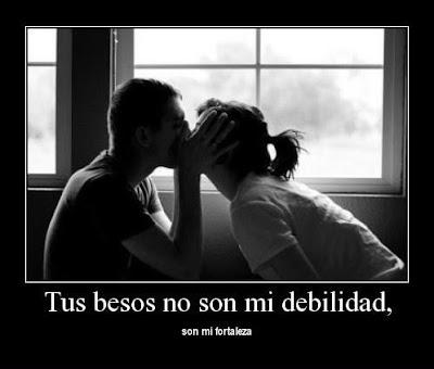 Tus besos son mi debilidad, hermosas frases de amor para el día del amor
