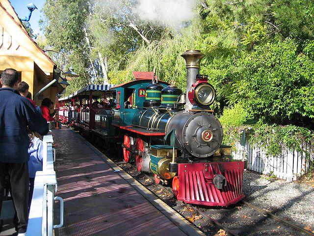 Disneyland Railroad Engine