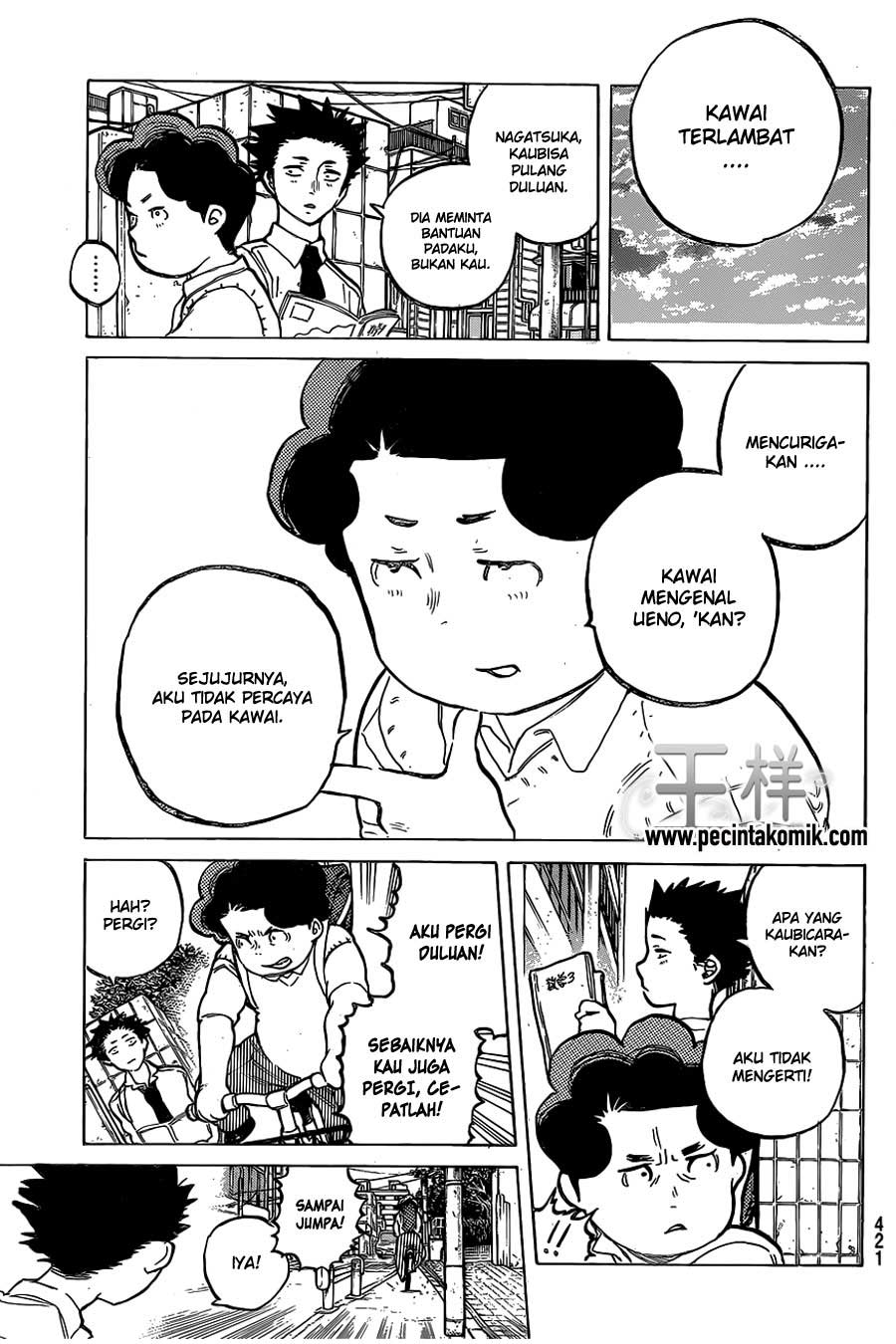 Koe no Katachi Chapter 20-14