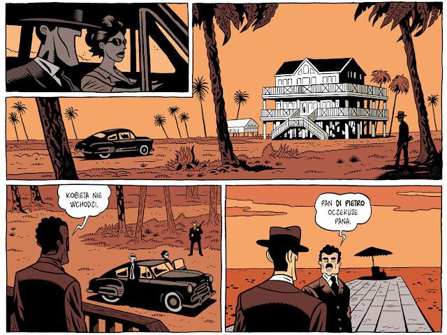 Tyler Cross 1 Black Rock, fabien nury, recenzja komiksu, wydawnictwo omg słowobraz