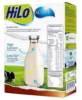 Harga susu Hilo Active