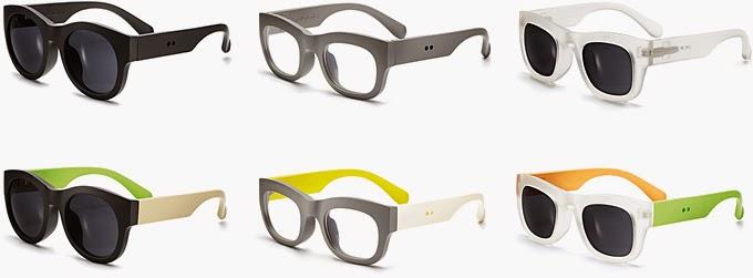 variedad de gafas de sol