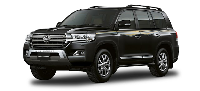 Toyota LAND CRUISER Pricelist - As of January 2019 (Luzon - Philippines)