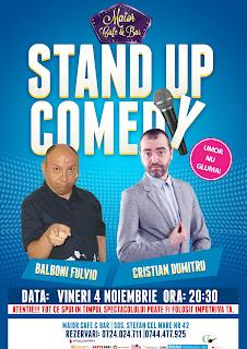 Stand-Up Comedy Vineri 4 Noiembrie Bucuresti