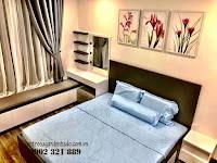 Căn hộ full nội thất tòa Orchid 2 HaDo Centrosa cho thuê - giường ngủ plus