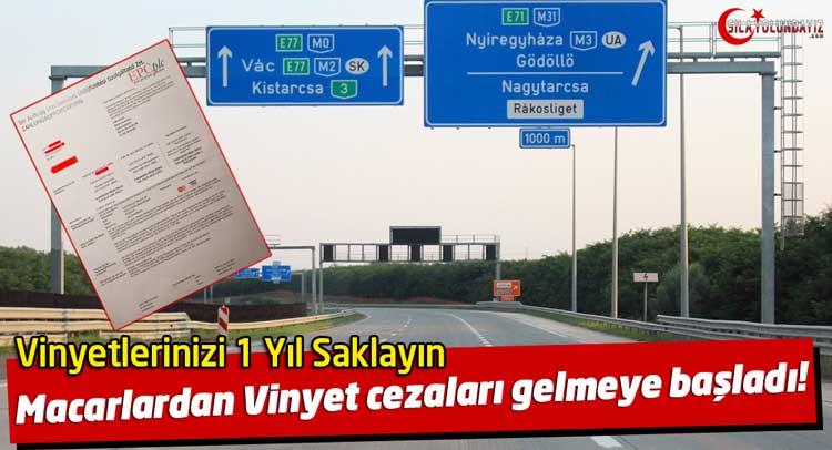 Macaristan Vinyet Cezası Vinyet ceza mektubu 2020