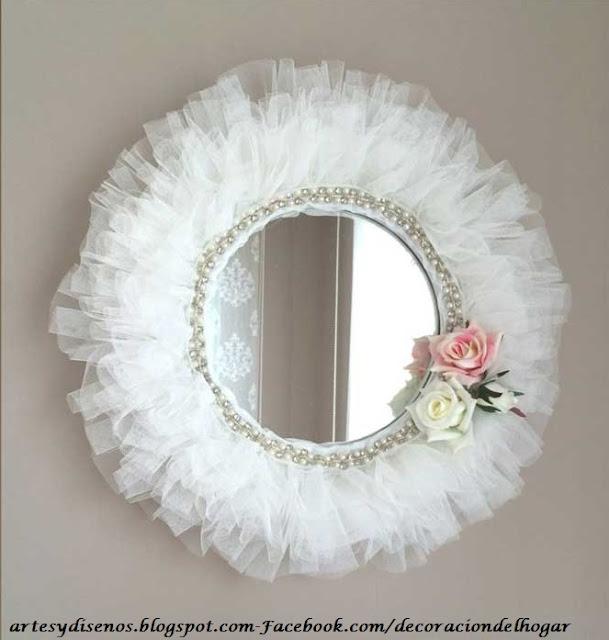 Ideas para decorar con espejos decoraci n del hogar for Espejos redondos para decoracion