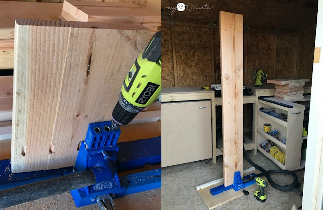 using a Kreg Jig for drilling pocket holes