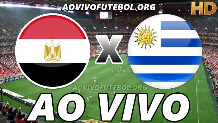 Assistir Egito x Uruguai Ao Vivo HD