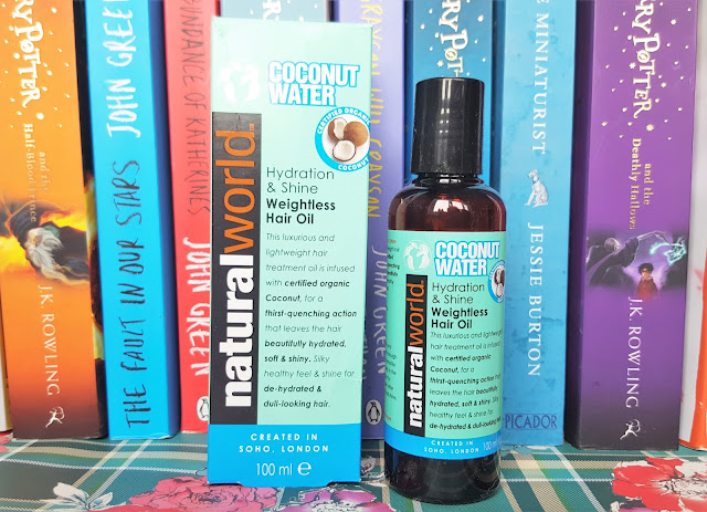 Coconut Water Natural World Haircare