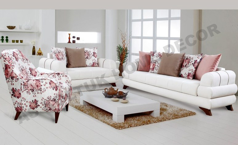 as koltuk home decor for sale white and floral modern sofa set. Black Bedroom Furniture Sets. Home Design Ideas