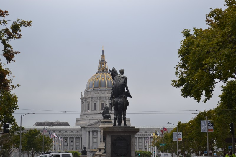 San Francisco, civic center, Californie