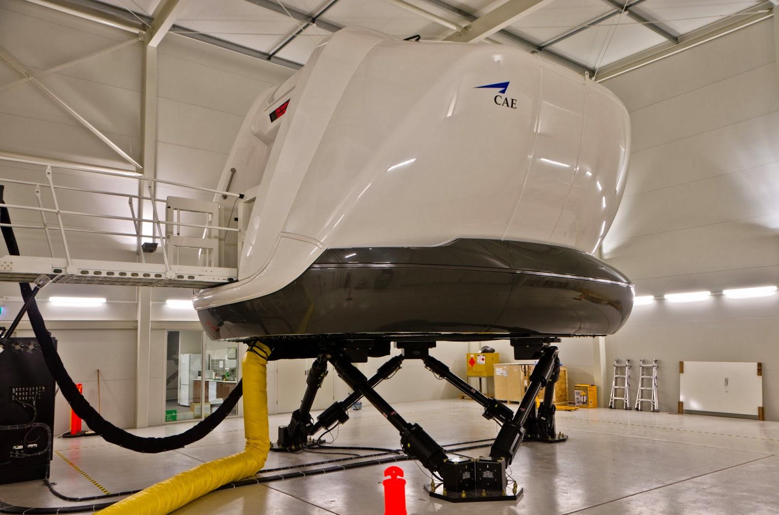 DEFENSE STUDIES: CAE King Air 350 Full-Flight Simulator to