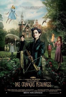 Pôster/capa/cartaz nacional de O LAR DAS CRIANÇAS PECULIARES (Miss Peregrine's Home for Peculiar Children)