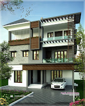 Three Floor House Design