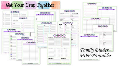 10+ Printables to Organize Your 2018