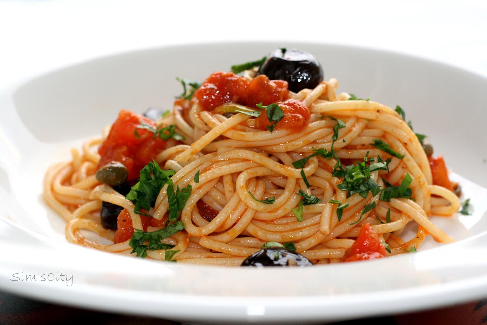 Zeytinli Baharatlı Spaghettı Tarifi