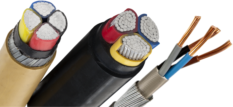 Varied Types Of Cables Amp Wires