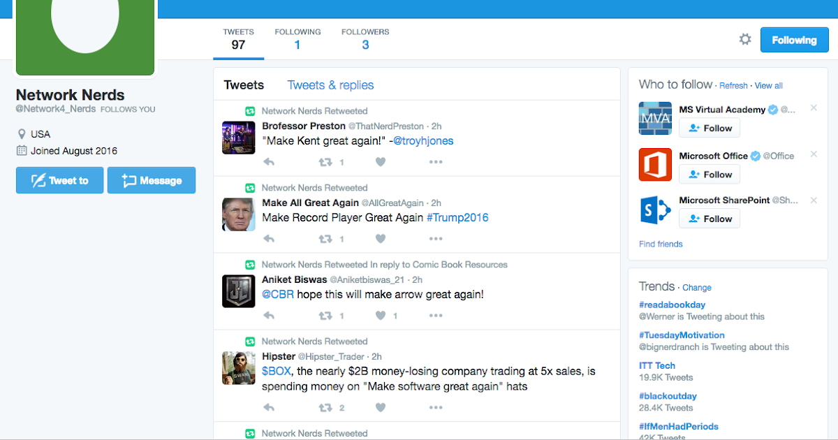 Network Automation Nerds: Make a Twitter Bot in Python and