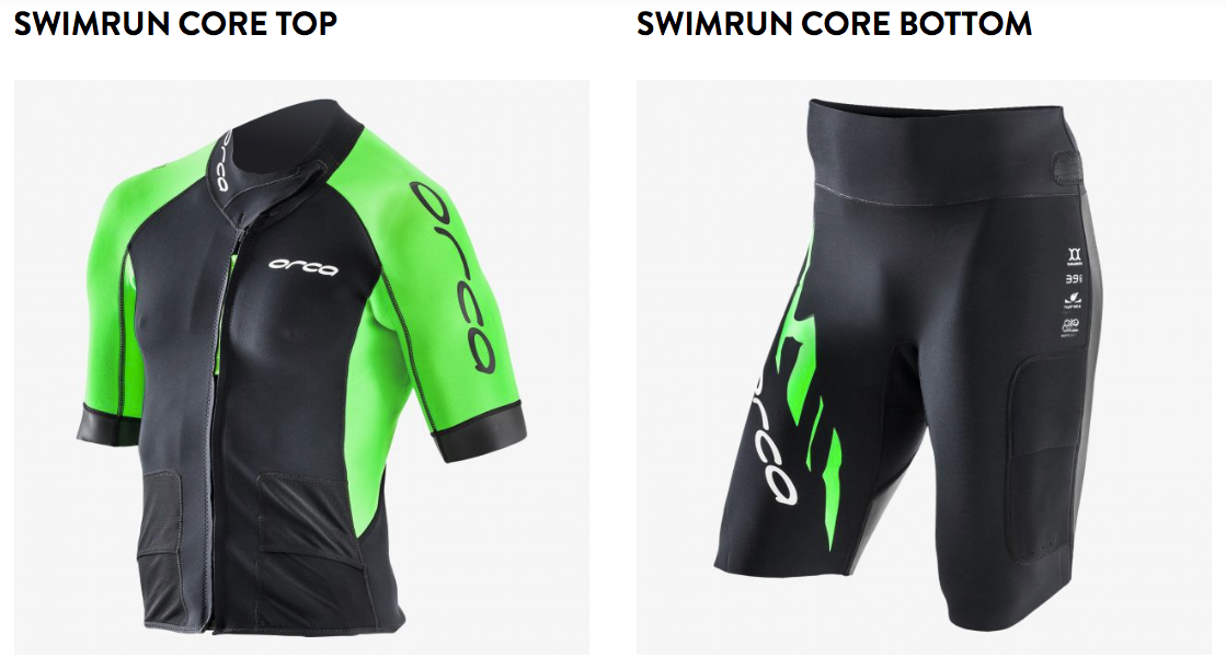 c062a853a7 62 point 1 miles  Orca Two Piece Swimrun Wetsuit - first impressions ...