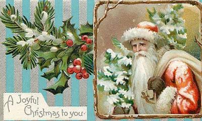 Carte postale : Noel.