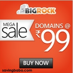 .com Domain Names Rs. 99 – BigRock