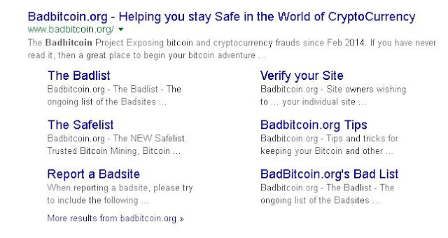 BEST PLACE TO CATCH BAD BITCOINS SCAMMERS