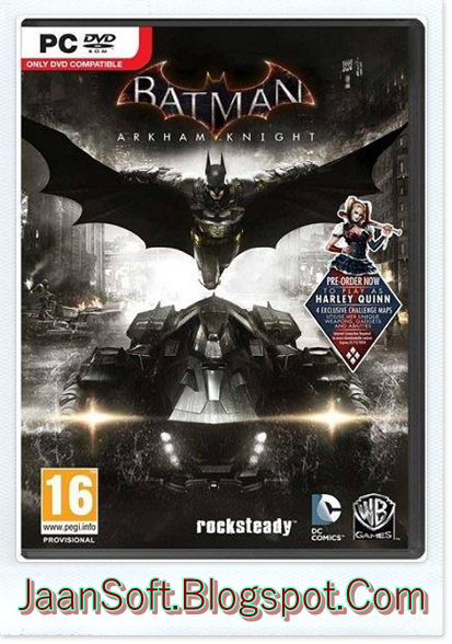 Batman Arkham Knight PC Game 2016 Free Download
