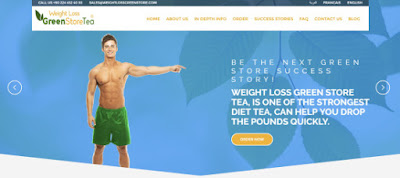 Weight Loss Green Store Tea Fat Burner