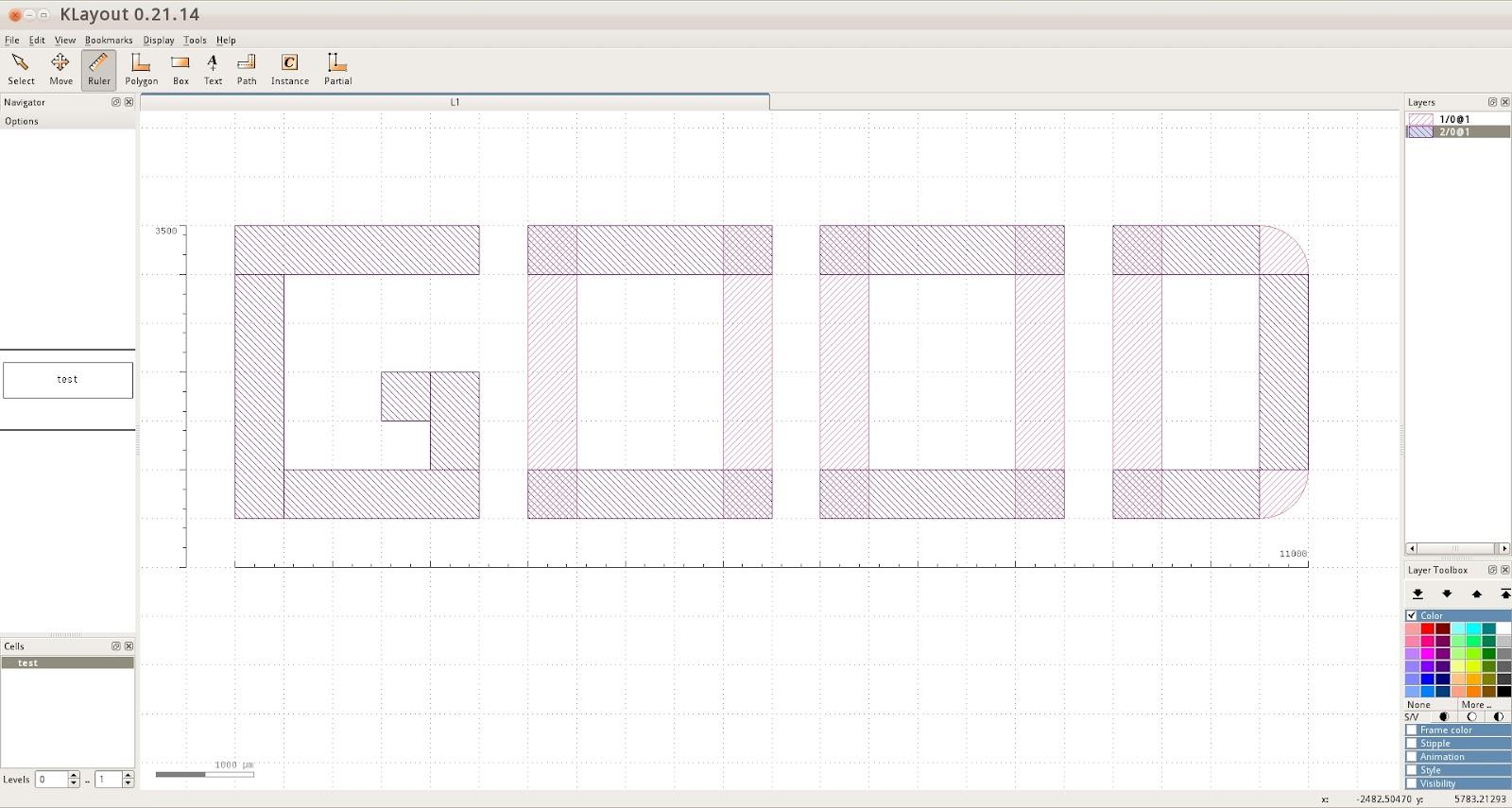 作敏: 同時適合畫 PCB 板以及 IC 的自由軟體 - klayout (安裝)