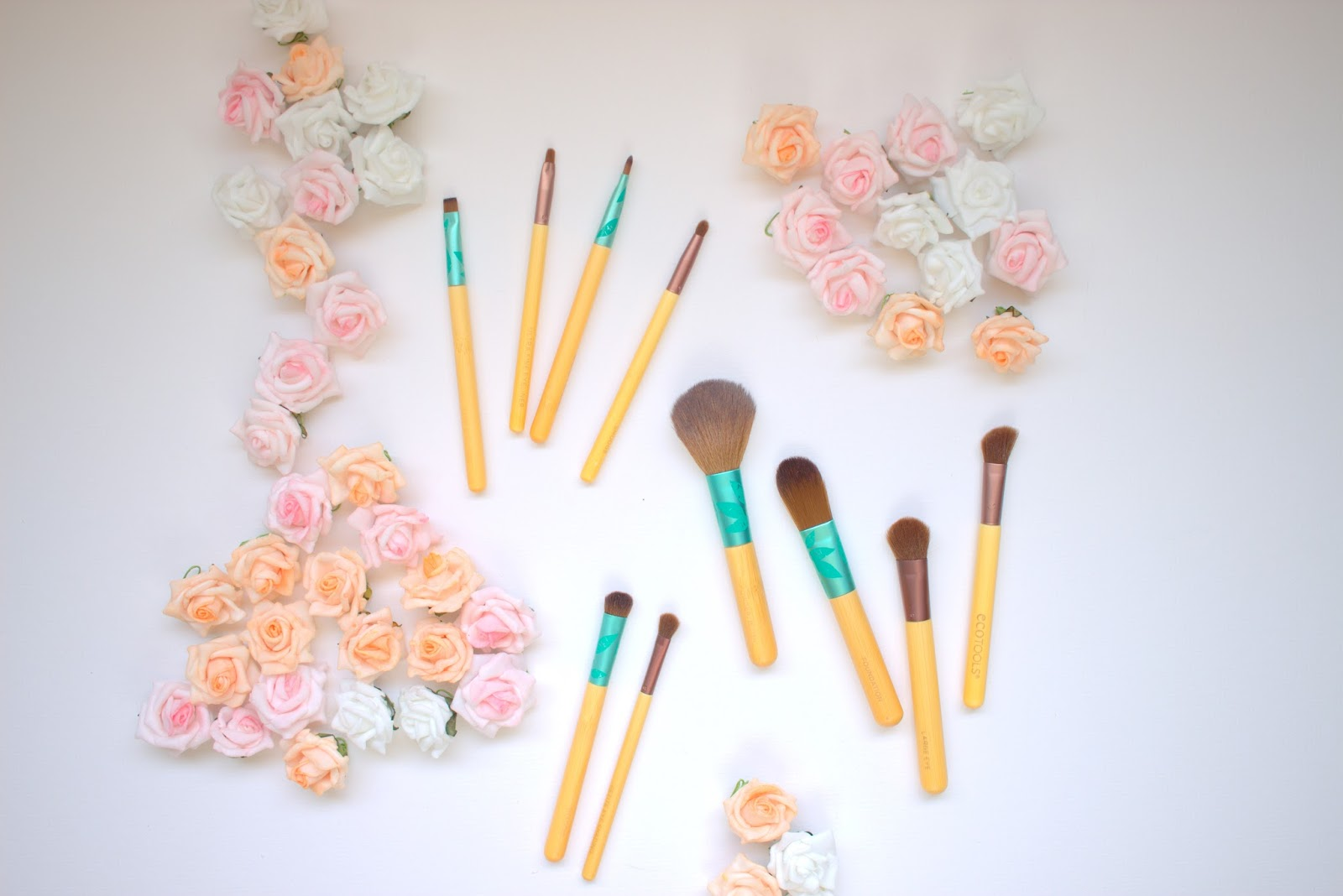 ecotools makeup brushes vegan all natural non toxic