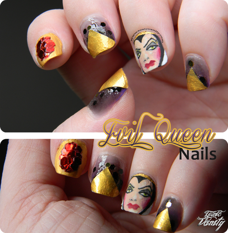 MSMD: Evil Queen Nails - Toxic Vanity