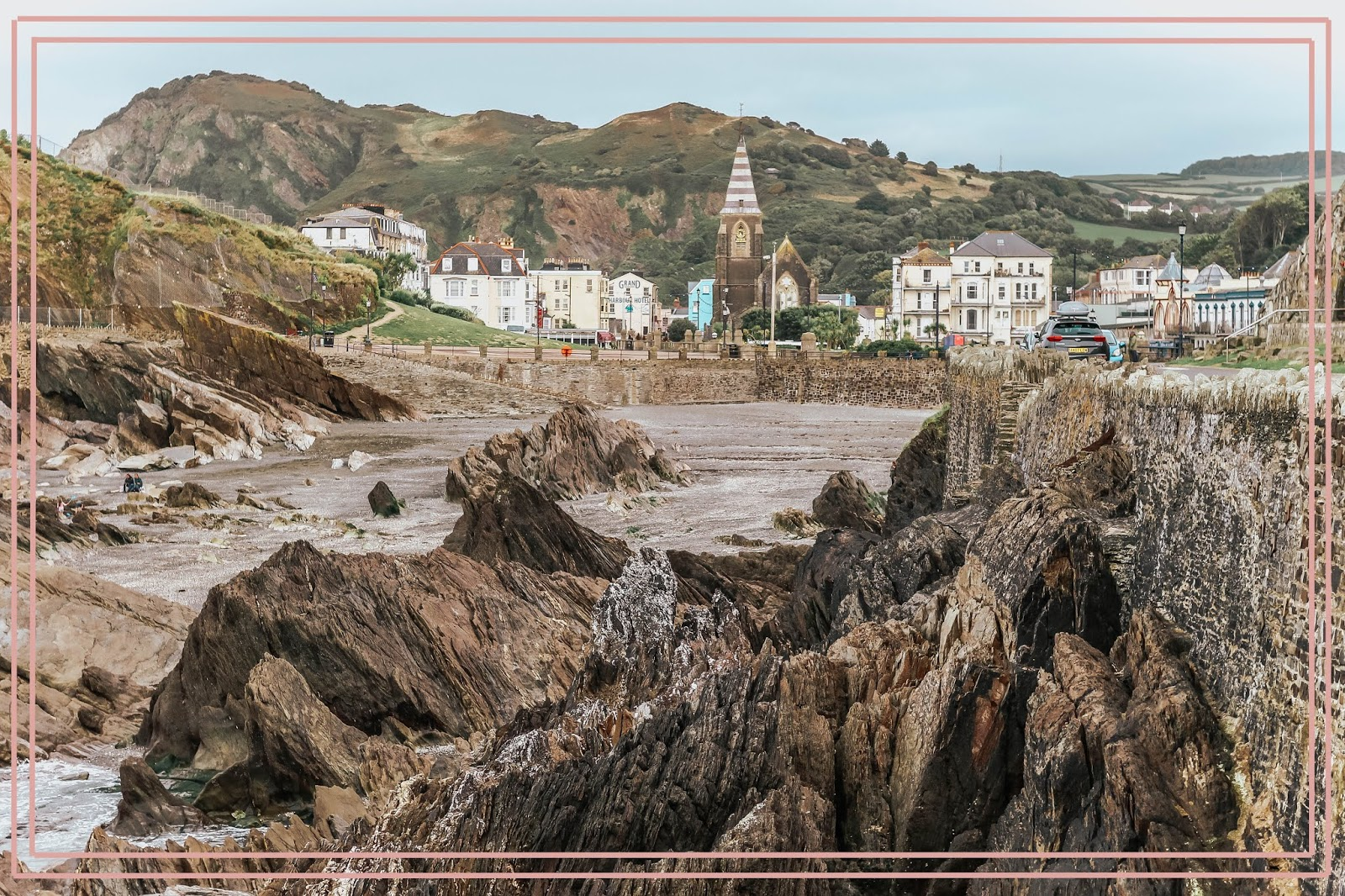 Ilfracombe Devon Coastline in Autumn