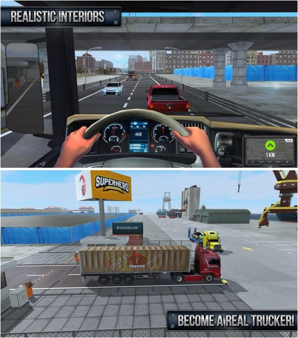Truck Simulator 2017 Mod Apk v1.8 (Free Shopping)
