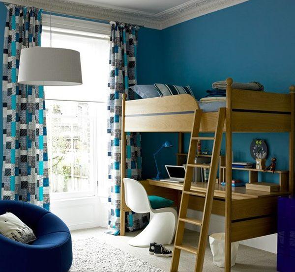 30 kamar tidur laki laki nuansa biru